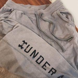 Under armor Grey sweatpants
